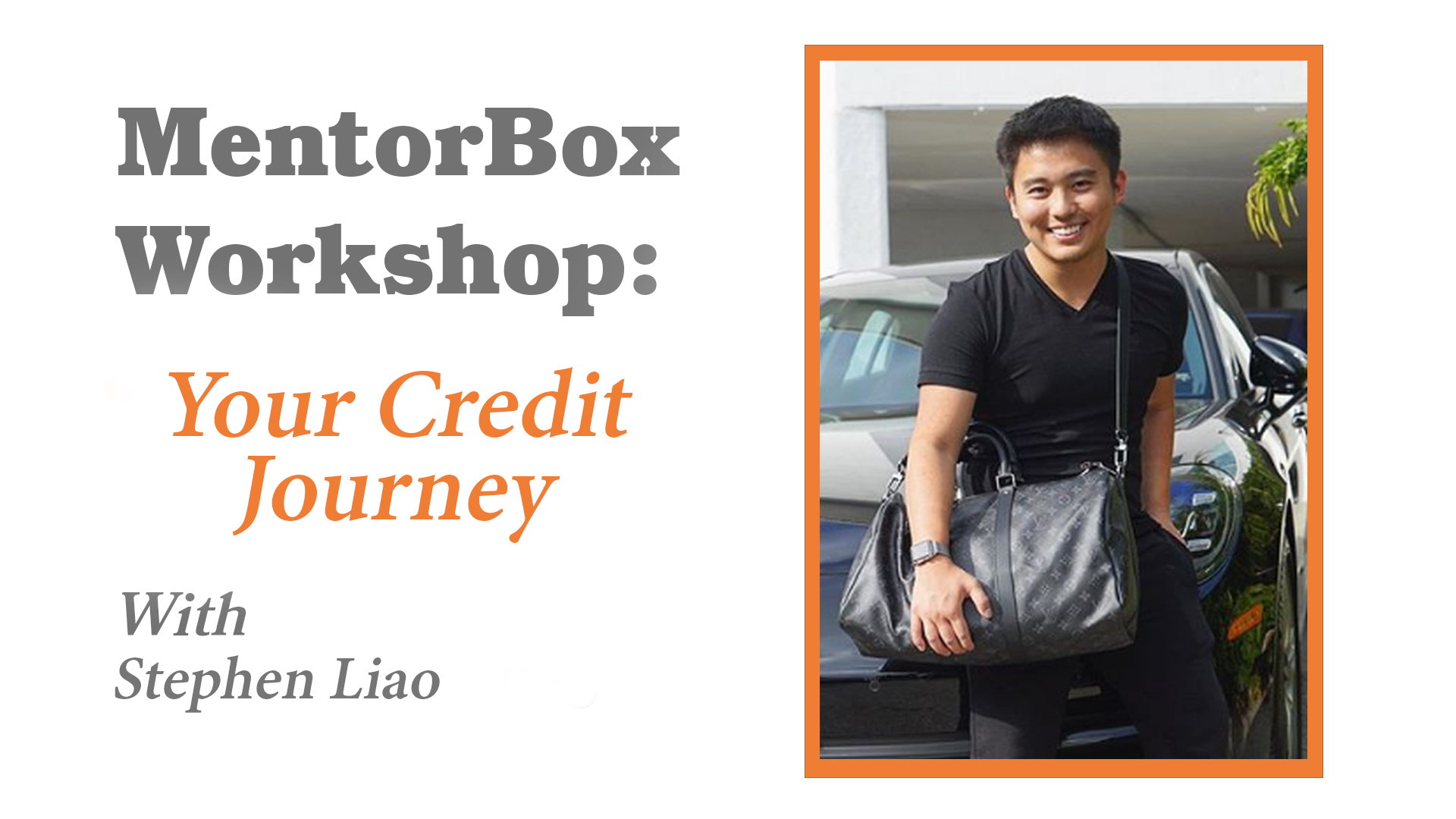 How To Build Credit with Stephen Liao